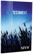 NIV Outreach New Testament Blue Wheat Cover