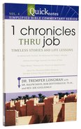 1 Chronicles Thru Job (#04 in Quicknotes Simplified Bible Commentary Series) Paperback