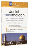 Daniel Thru Malachi (#07 in Quicknotes Simplified Bible Commentary Series) Paperback