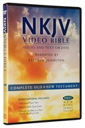 NKJV Video Bible Narrated By Stephen Johnston (Audio And Text On DVD Voice Only)