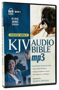 KJV Audio Bible MP3 Voice Only CD
