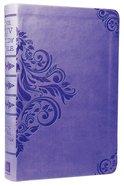 KJV Study Bible Purple Dicarta Imitation Leather