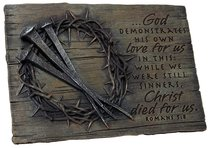 Plaque: Crown of Thorns (Polyresin)