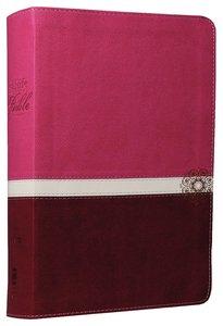 NIV Real-Life Devotional Bible For Women Raspberry/Razzleberry