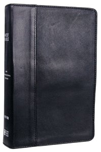 NIV Thinline Reference Bible Ebony (Red Letter Edition)