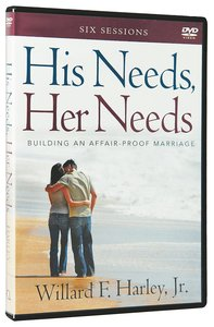 His Needs, Her Needs - Building An Affair-Proof Marriage (Dvd)