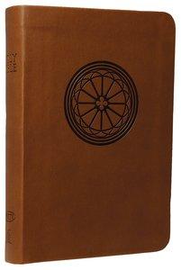 NKJV Compact Large Print Reference Bible Hazelnut (Essentials)