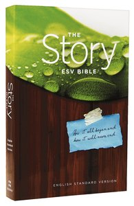 ESV the Story Bible (Black Letter Edition)