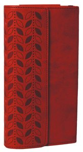 NIV Diary Bible Cherry With Clasp (Black Letter Edition)