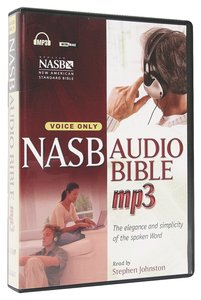 NASB Audio Bible MP3 Voice Only