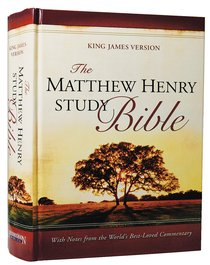 KJV Matthew Henry Study Bible Indexed
