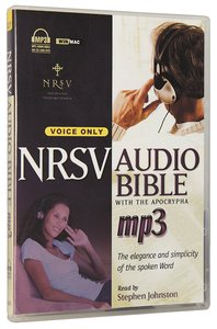 NRSV Audio Bible With Apocrypha, MP3 Voice Only