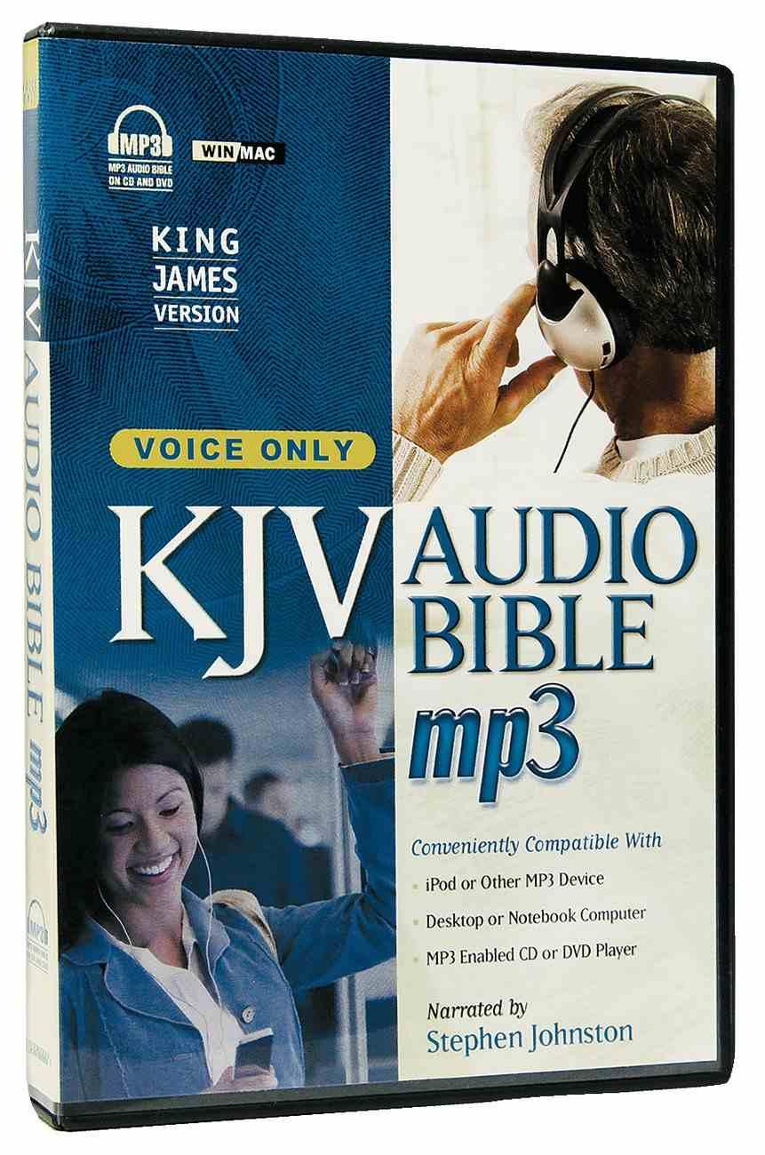 KJV Audio Bible MP3 Voice Only