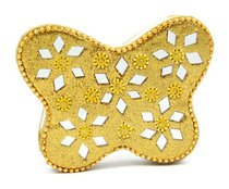 Note Pad Butterfly Gold (Empowering The Poor Series)