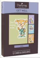 Boxed Cards Get Well: For Kids