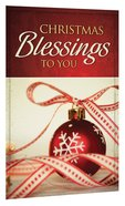Christmas Blessings to You (Pack Of 25) Booklet