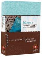 NLT Women's Sanctuary Devotional Bible (Black Letter Edition) Paperback
