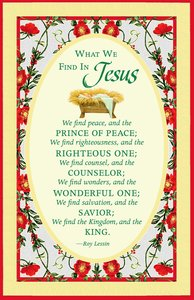 Christmas Premium Boxed Cards: What We Find in Jesus (Col 2:9)