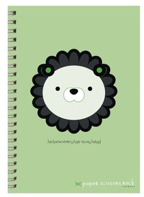 Unisex Ark A5 Spiral Notepads: He Knows Every Hair on My Head