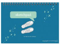 Boys Adventure A4 Spiral Sketchpad: My Feet Do Not Stumble