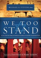 We Too Stand Paperback