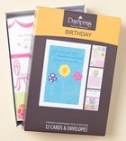 Boxed Cards Birthday: Joyful Box