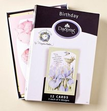 Boxed Cards Birthday: Natures Blessing By Marjolein Bastin
