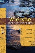 Job (Wiersbe Bible Study Series) Paperback