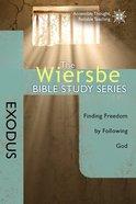Exodus (Wiersbe Bible Study Series) Paperback