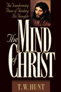 The Mind of Christ Hardback