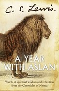 A Year With Aslan eBook