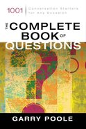 The Complete Book of Questions eBook