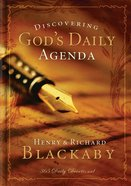 Discovering God's Daily Agenda eBook