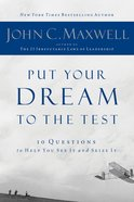 Put Your Dream to the Test eBook