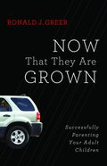 Now That They Are Grown eBook