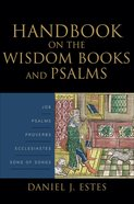 Handbook on the Wisdom Books and Psalms eBook