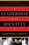 Leadership as An Identity eBook