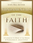 Fundamentals of the Faith eBook