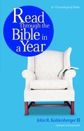 Read Through the Bible in a Year eBook
