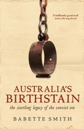 Australia's Birthstain eBook