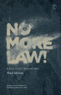 No More Law! eBook