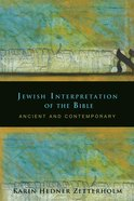 Jewish Interpretation of the Bible Paperback
