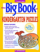 The Big Book of Kindergarten Puzzles (Reproducible) Paperback