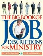 The Big Book of Job Descriptions For Ministry Paperback