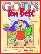 Colouring Book: God's Ten Best (God's Ten Best Series) Paperback