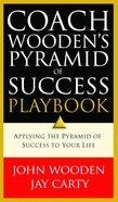 Coach Wooden's Pyramid of Success Playbook Paperback