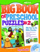 Big Book of Preschool Puzzles #02 (Reproducible)