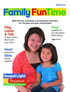 Gllw Winterb 2021 Ages 2/3 4/5 Family Funtime Pages (Gospel Light Living Word Series) Paperback