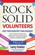 Rock Solid Volunteers Paperback