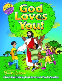 Colouring Book: God Loves You (Shirley Dobson Colouring Books Series)